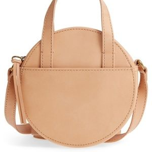 Madewell Bags - NWT ✨ Madewell Juno Circle Bag in Natural Buff